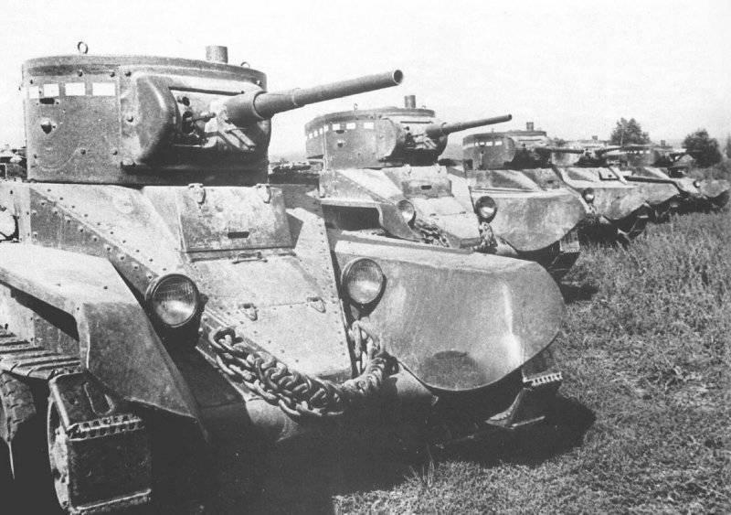 Железный кулак РККА. Танковый парк накануне войны