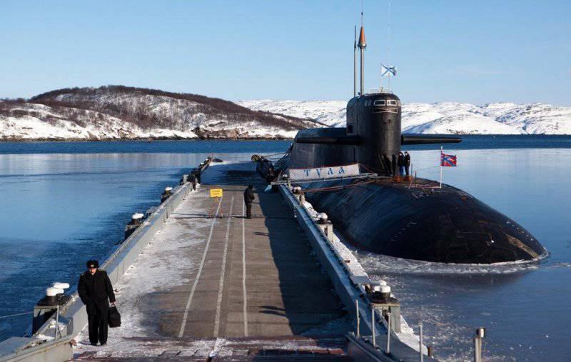 """Sous-marin nucléaire du projet 667BDRM """"Dolphin"""""""