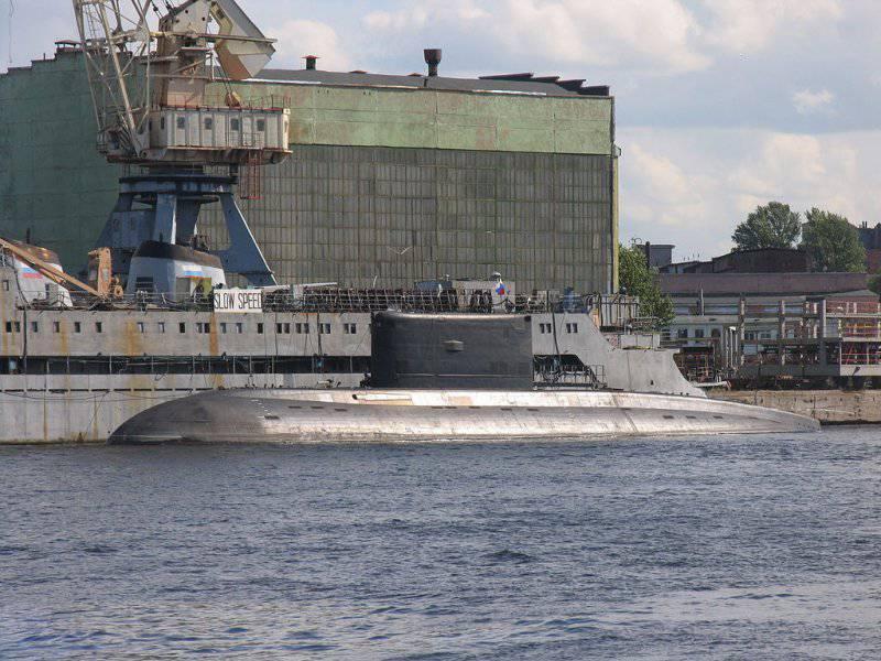 """Projet sous-marin 636 """"Varshavyanka"""""""