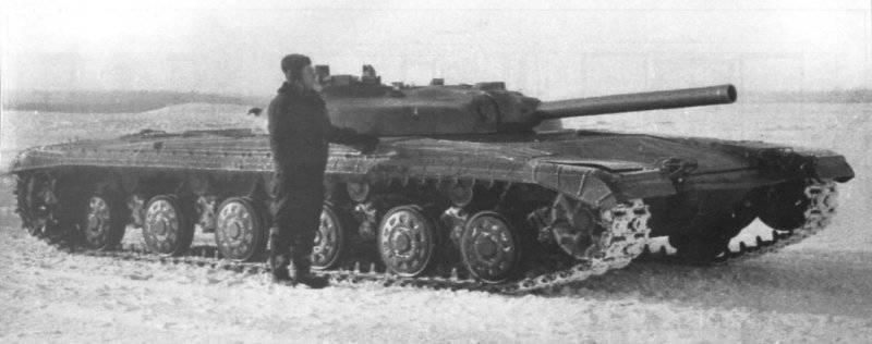"Experimental tank ""Object 775T"""