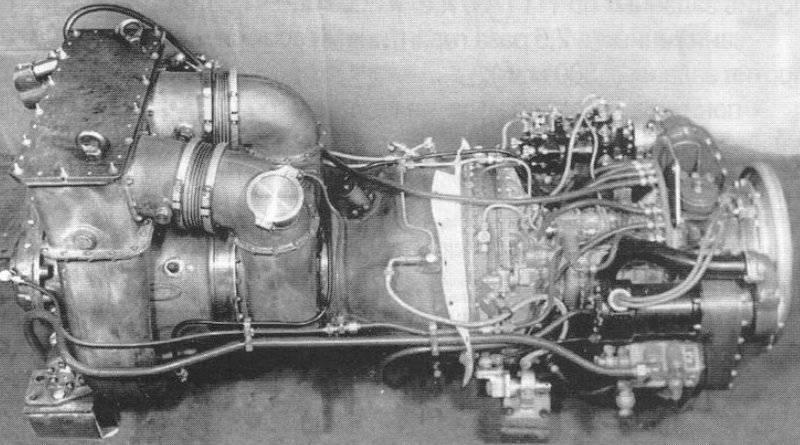 Motor de turbina de gas GTD-ZT