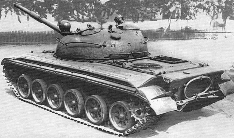 """प्रायोगिक टैंक """"ऑब्जेक्ट 166TM"""""""