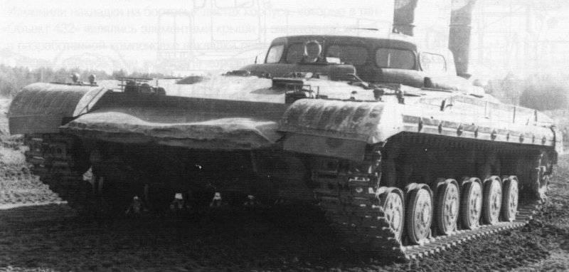 """टैंक का रनिंग मॉडल """"ऑब्जेक्ट 288"""""""