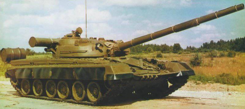 "सीरियल टैंक T-80 (""ऑब्जेक्ट 219"")।"