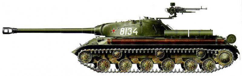 Боевое применение тяжелых танков ис 3