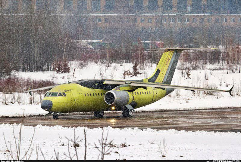 Первый серийный Ан-158 20 марта 2013 года на киевском аэродроме Святошино состоялся первый полет первого...