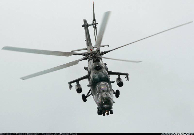 Ми-24 в США