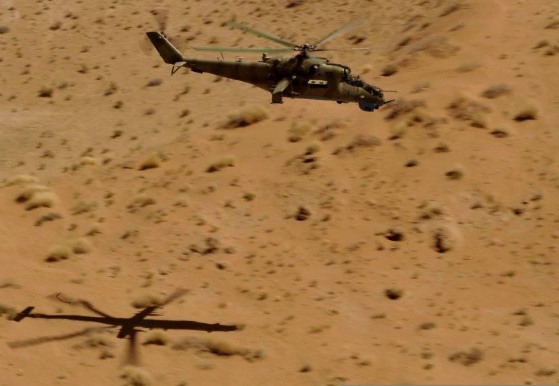 40 лет легендарному боевому вертолёту Ми-24 (часть 7) Ми-35