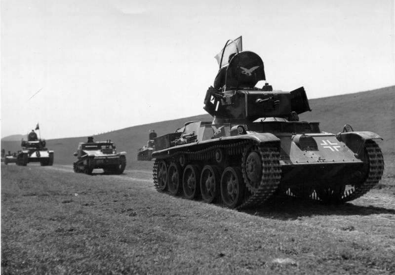 """기갑 헝가리 제 2 차 세계 대전. 라이트 탱크 """"Toldi"""""""