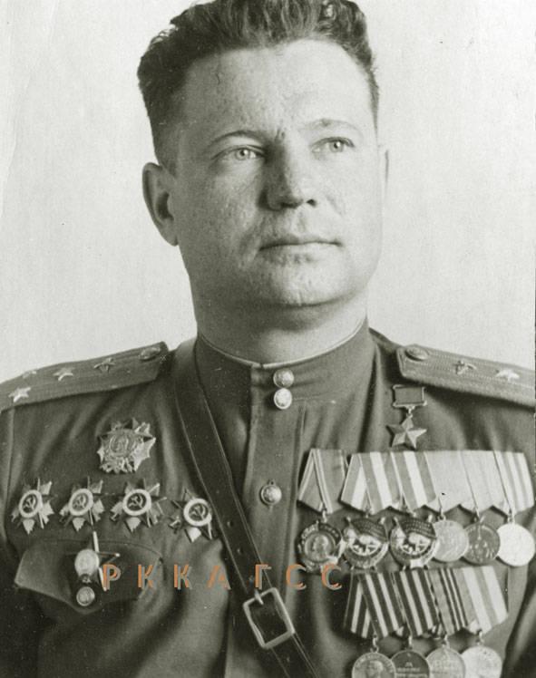 टेस्ट पायलट फेडोरोव इवान एवरग्राफोविच