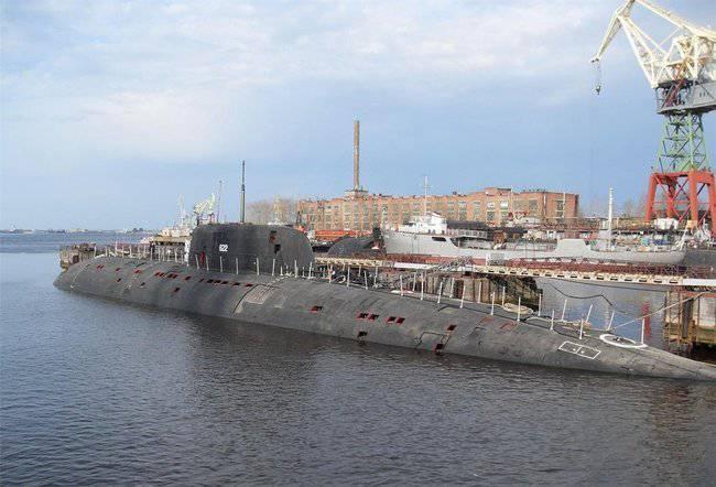 La modernizzazione dei sottomarini nucleari multiuso è iniziata