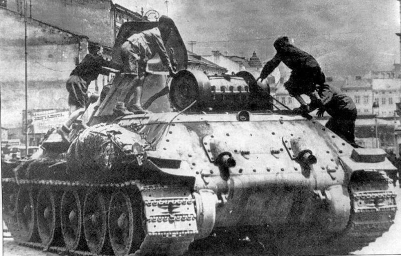 Lapti for T-34