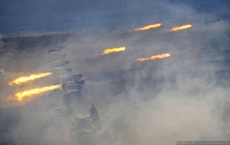 Primorsky Krai的导弹和炮兵部队的演习