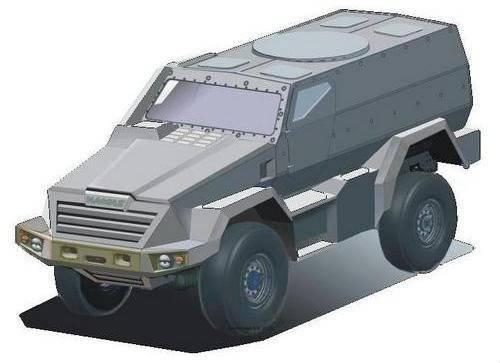 """Le véhicule blindé KAMAZ """"Shot"""" sera modernisé"""