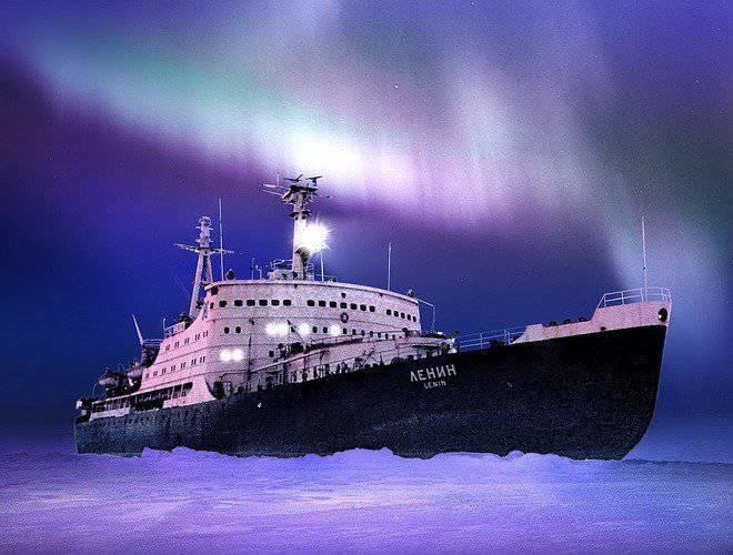 非常に冷戦。 北極圏での特別作戦
