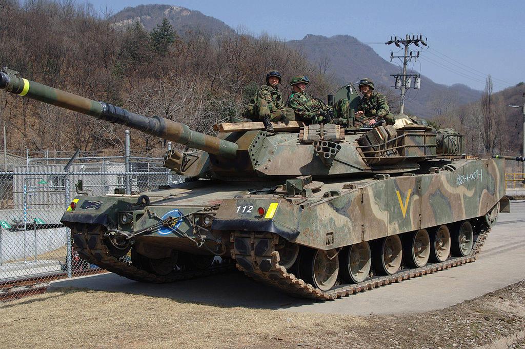Основные боевые танки k1 k1a1 и k2