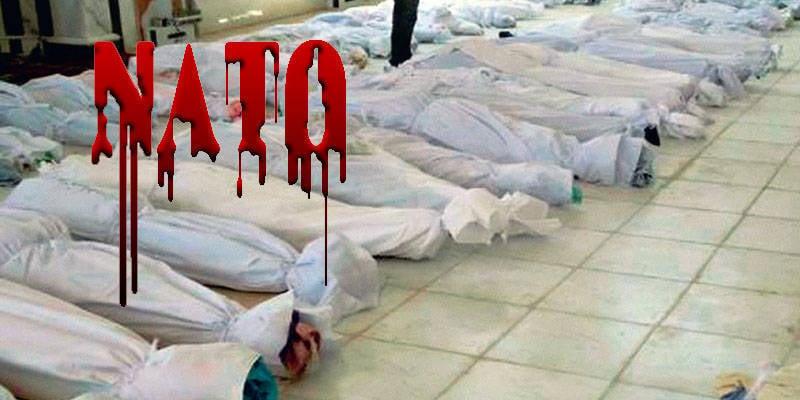 Anniversaire de l'OTAN: le sang syrien dans des lunettes