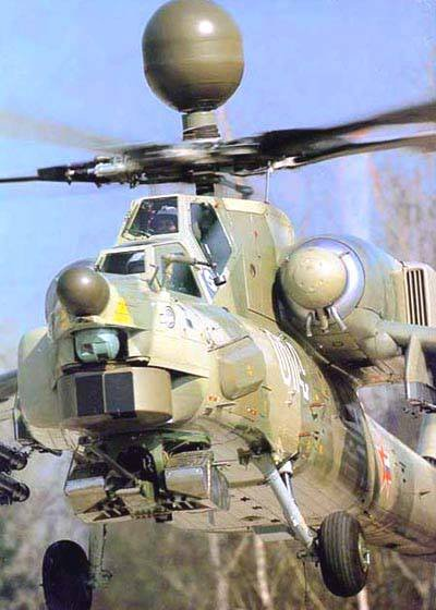 Mi-28H su Hovering in Punk