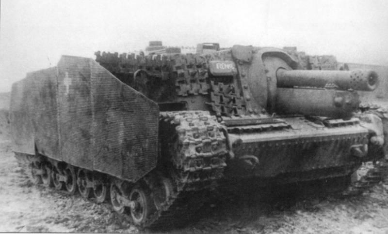 """Gepanzertes Ungarn Zweiter Weltkrieg. Mittlerer Panzer """"Turan"""""""