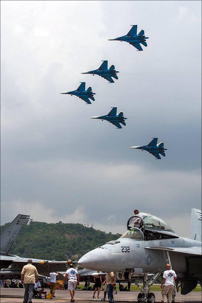 """मलेशिया में """"रूसी शूरवीर"""""""