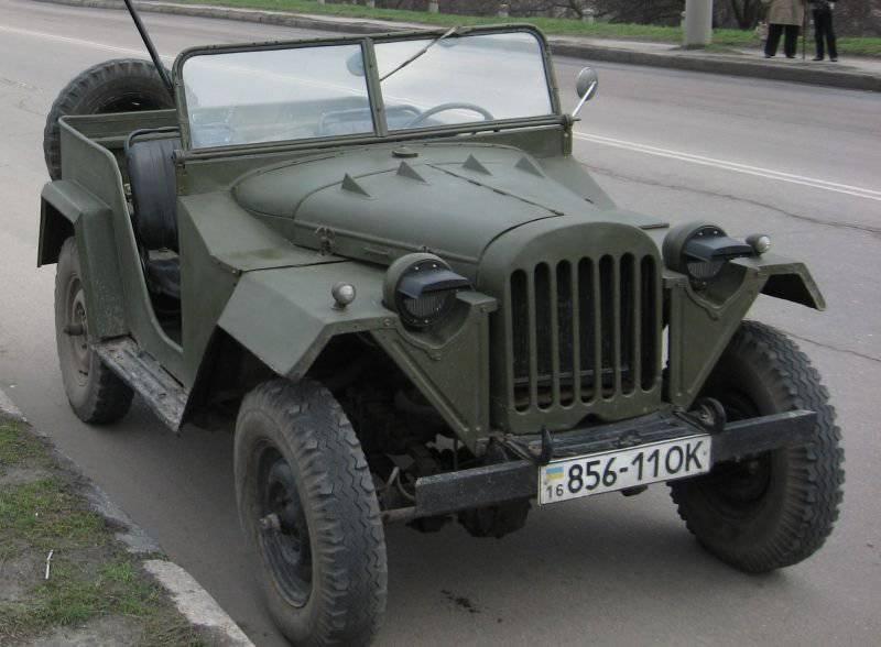 GAZ-67  - 小军人