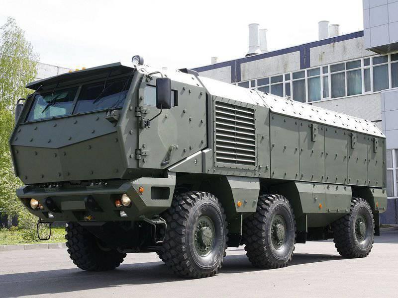 सैन्य वाहनों के बेड़े की स्थिति के बारे में संक्षेप में