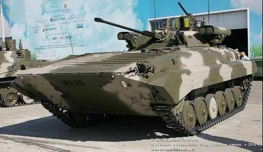 "BMP-2 with ""Berezhk"" - one of the best upgrades of the world-famous combat vehicle"