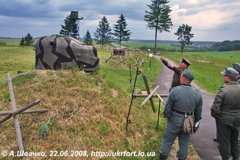 German fortifications of the Great Patriotic War