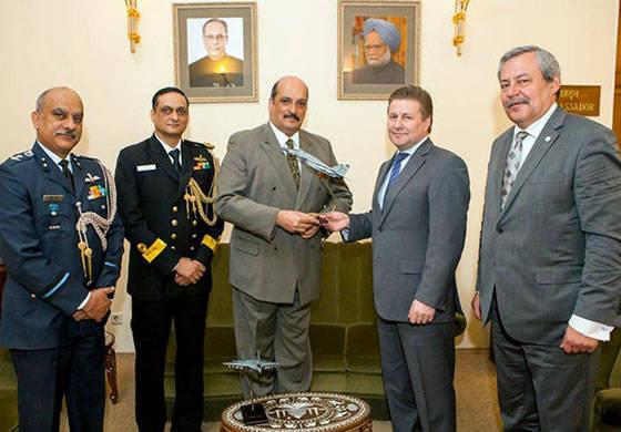 """RAC """"MiG"""" ve Hindistan Savunma Bakanlığı arasında 50 yıllık işbirliği"""