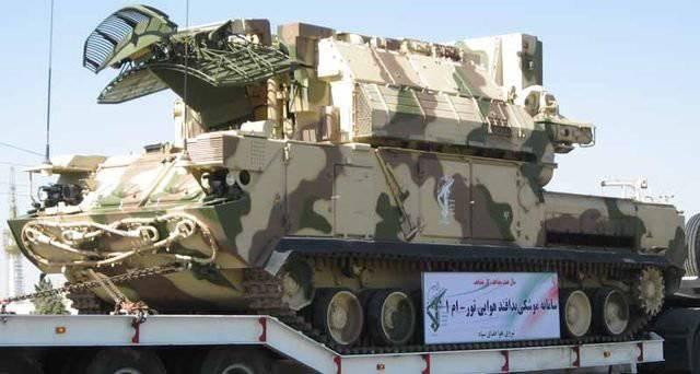 Defensa Aérea Iraní