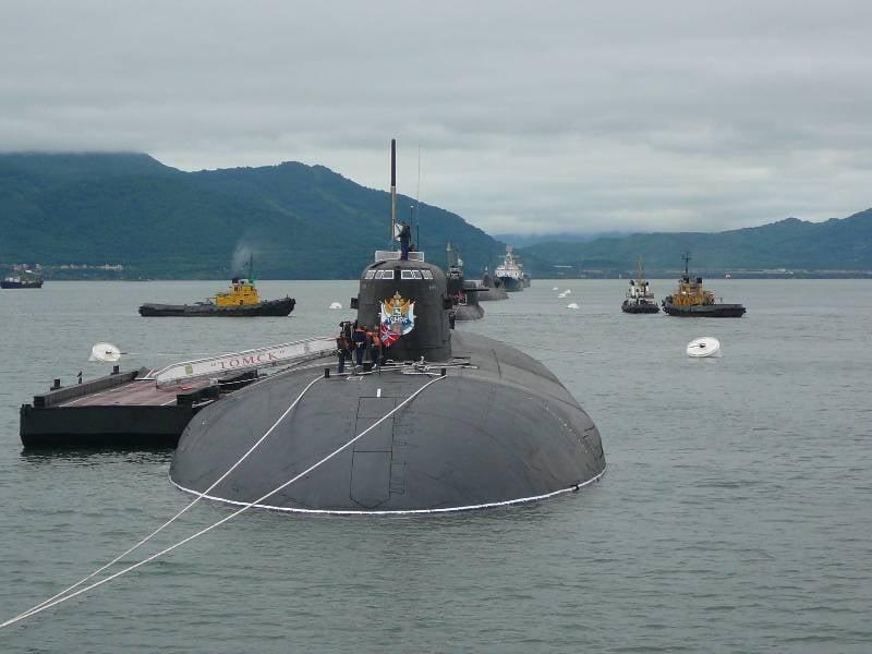 Kurz über den Status der Pazifikflotte