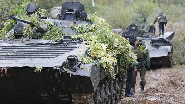 West fears Russian exercises near the borders of Poland