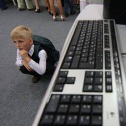 Educação soviética nutrida monstro