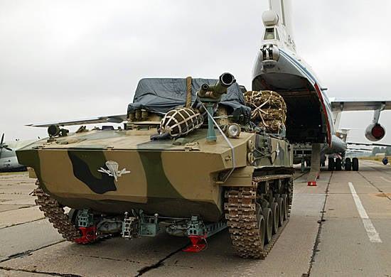 ロシアとベラルーシの空挺部隊は合同大隊戦術演習を開催します