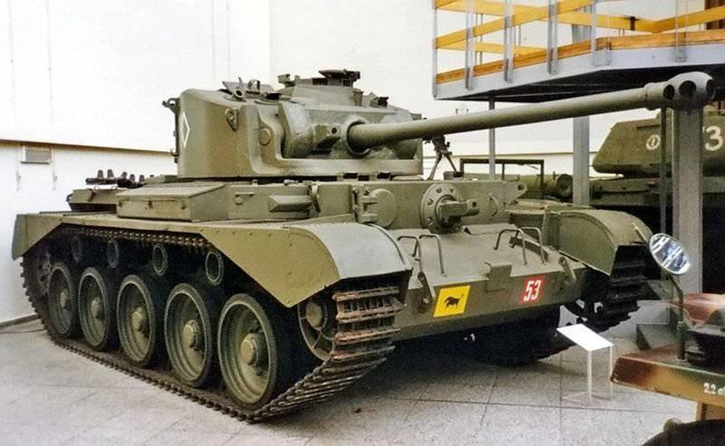 Englischer Panzer A34 Сomet