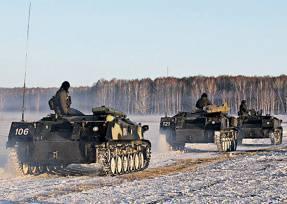 """Pára-quedistas Pskov anunciou o sinal """"Coleção"""""""