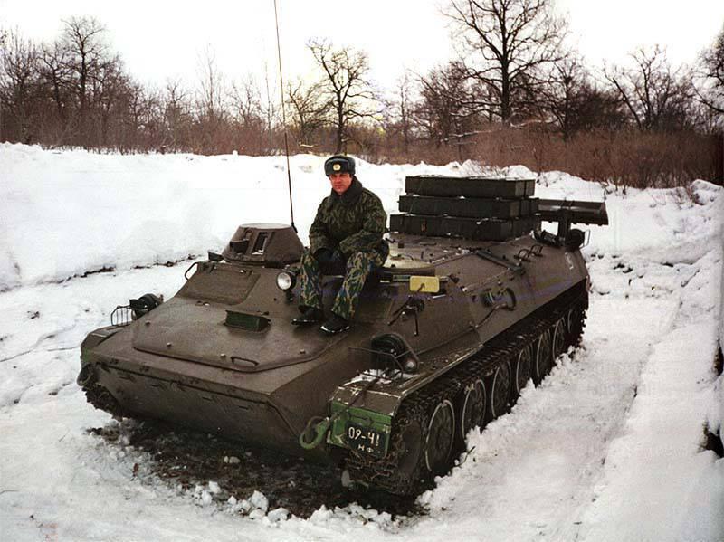 Vehicle modifications MT-LB