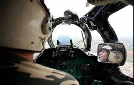 Helicopter pilots Mercenaries