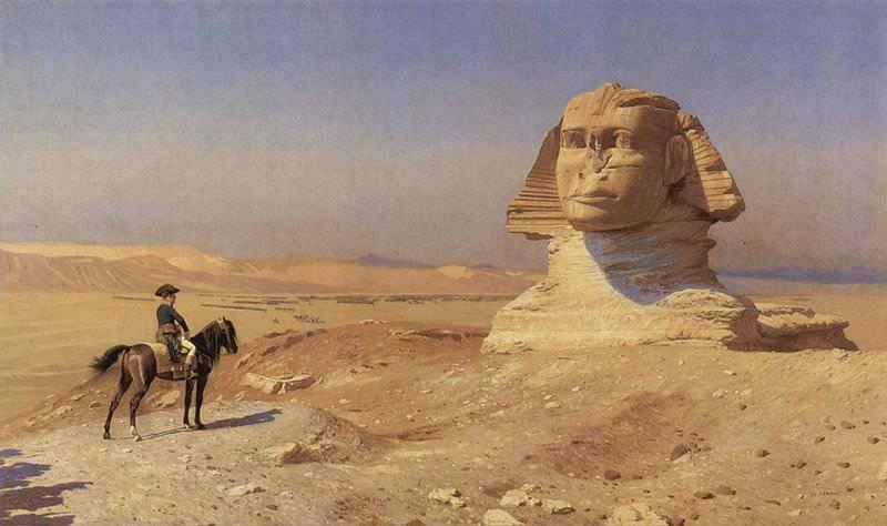 पिरामिडों की लड़ाई। मिस्र का अभियान बोनापार्ट। 3 का हिस्सा