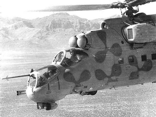 Racconti di un pilota di elicotteri. Bomba fumogena