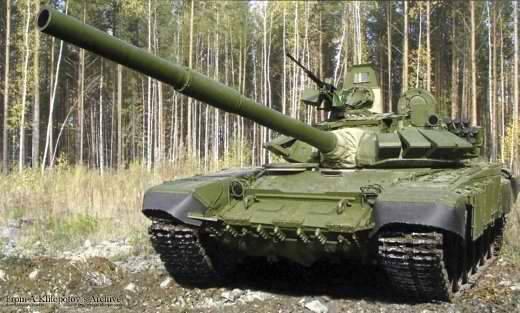 """O T-72B3 atualizado supera o T-80BV """"voador"""""""