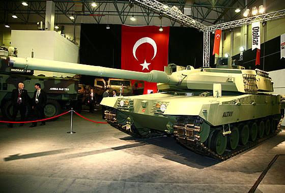 """Arábia Saudita está considerando a possibilidade de comprar UAVs turcos """"Anka"""" e MBT """"Altai"""""""