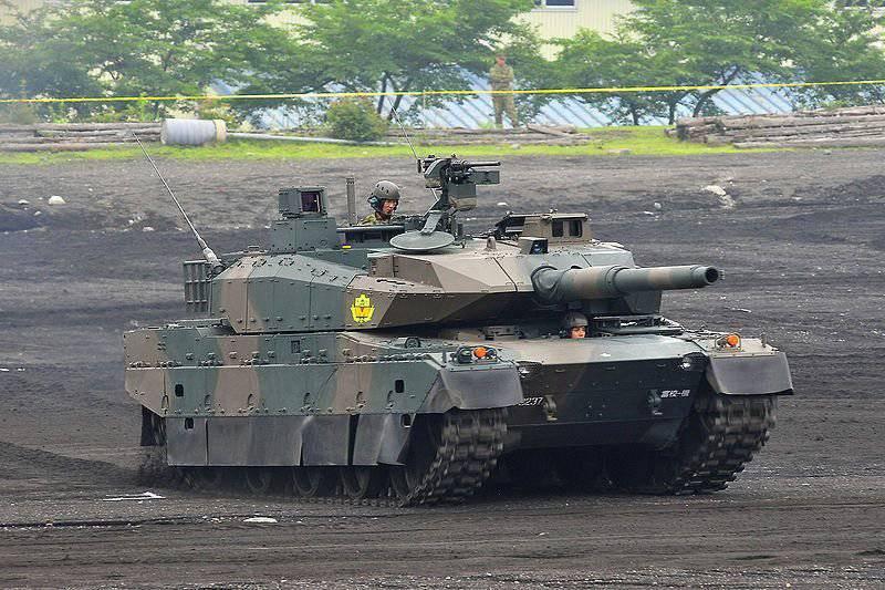 日本主战坦克型号10
