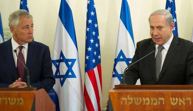 Hagel and Ya'alon: a talk for three billion