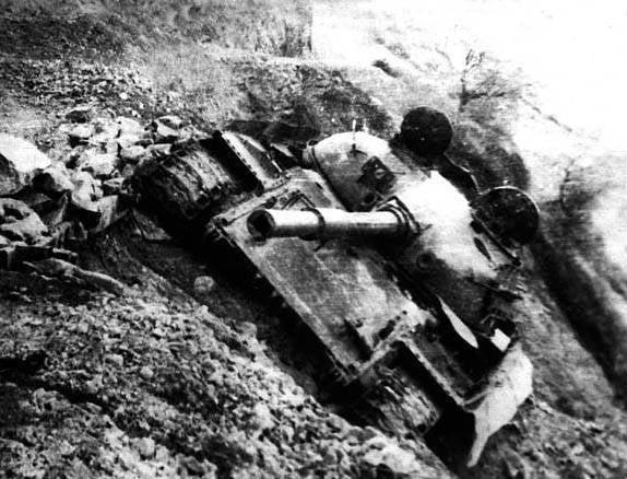 "Salang의 산기슭에있는 ""316"". 아프가니스탄의 소련 유조선"