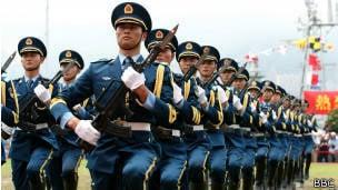 Chinesischen Generälen wurde befohlen, privat zu sein