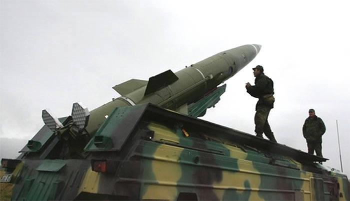 """Ракеты тактического комплекса  """"Точка """" были приняты на вооружение в Советском..."""