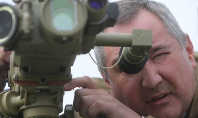 "Rogozin, ""Tiger"" and ""Cornet"""
