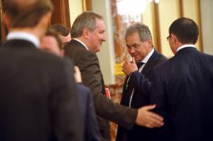 Shoigu with Rogozin conceived experiment