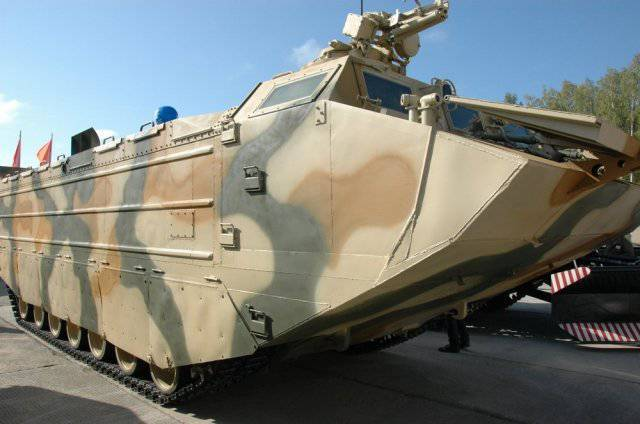 Media: The Ministry of Defense will purchase an amphibious transporter based on the T-80 tank